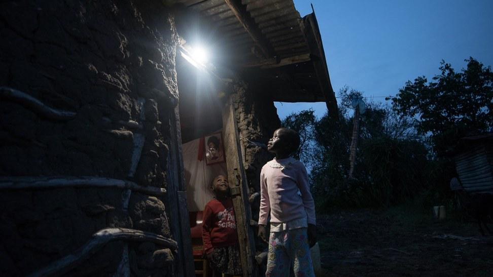 非洲生活照明